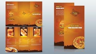 getlinkyoutube.com-Create a Tri fold Restaurant Brochure Photoshop Tutorial