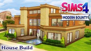 getlinkyoutube.com-The Sims 4 House Build - Modern Bounty Family Home With Pool