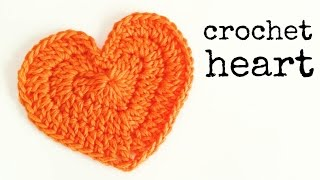 getlinkyoutube.com-How to crochet a HEART (medium size) ♥ CROCHET LOVERS