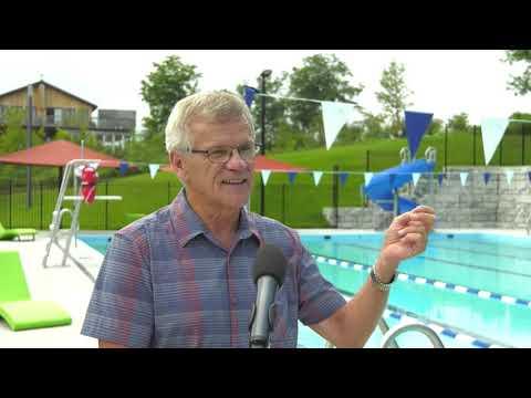 Une piscine municipale au goût du jour à Château-Richer