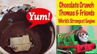 getlinkyoutube.com-Thomas and Friends Percy's Chocolate Crunch - World's Strongest Engine