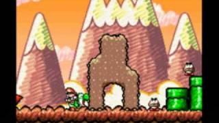 getlinkyoutube.com-Zagrajmy w Super Mario World 2: Yoshi's Island (część 17) Wnerwiony, znudzony aż rozweselony : )