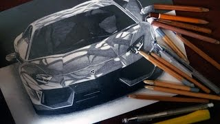 getlinkyoutube.com-LAMBORGHINI AVENTADOR LP-700 ランボルギーニ DRAWING ISP 2014