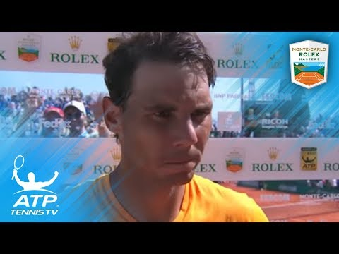 Nadal Reflects on Reaching 12th Final | Monte-Carlo 2018