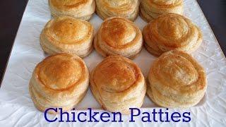 getlinkyoutube.com-#Chicken Patties Step by step tutorial English Urdu Recipe # 68