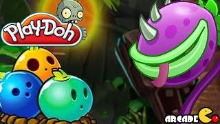 Play Doh Plants vs Zombies 2: Chomper & Bowling Bulb Big Wave Beach Plants