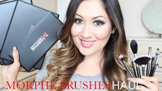 getlinkyoutube.com-Giant Morphe Brushes & Makeup HAUL ! | #MorpheBrushes