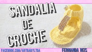 getlinkyoutube.com-Sandalia de croche