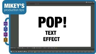 getlinkyoutube.com-After Effects Quick Tip: Pop on text
