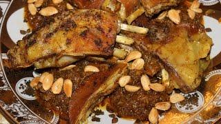 getlinkyoutube.com-Tajine de viande M'hammer ..... طاجين اللحم المحمر المغربي