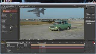 getlinkyoutube.com-Создаем классную сцену с самолетом в Adobe After Effects