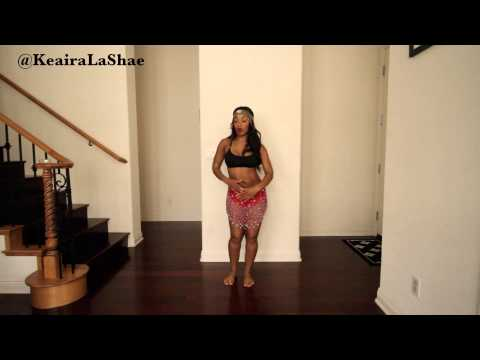 HOW TO Body Roll/Belly Dance for Beginners (Tutorial) @KeairaLaShae