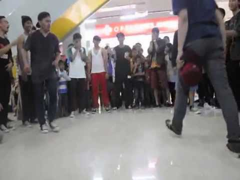 (Final) 2 on 2 Bboy Battle at Batu Aji 2013 Toxical Crew vs FF/MSB