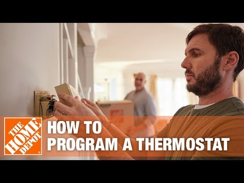 How to Program a Thermostat