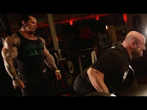 @ScotMendelson & @BigRichPiana HEAVY BACK - all Rows