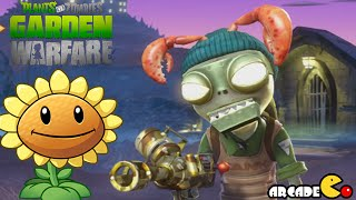 getlinkyoutube.com-Plants Vs. Zombies Garden Warfare: Soldier Zombies All Abilities Unlocked