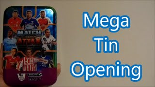 getlinkyoutube.com-Match Attax 2015-16 MEGA TIN OPENING /w GamerBoyWii !!!!