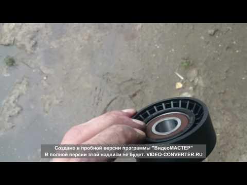 Расположение ремня кондиционера в Skoda Октавия А5