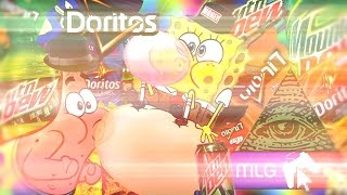 getlinkyoutube.com-SpongeBubblegum Squarepants : The MLG Montageparody
