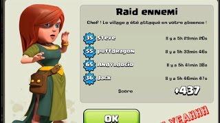 getlinkyoutube.com-Village HDV 8 défense / Village rush TH 8 + BONUS PETITE ATTAQUE !!