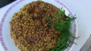 getlinkyoutube.com-Sticky Rice - Afghan Shola-e Ghorbandi - Special Rice recipe