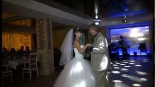 getlinkyoutube.com-Танец невесты с папой. Слова песни захватывают дух.