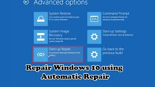 getlinkyoutube.com-Repair Windows 10 using Automatic Repair