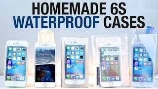 getlinkyoutube.com-Best Waterproof iPhone 6S Cases - Homemade Edition