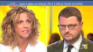 Barbara Lezzi (M5S) a L'aria che tira 2/8/2017