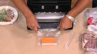 getlinkyoutube.com-FoodSaver V2470 Stainless Steel Vacuum Sealer with Built-in Roll Storage with Mary Beth Roe