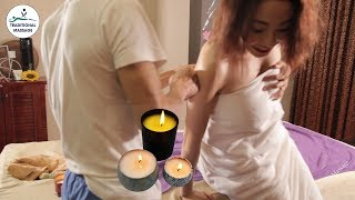 Japanese Full Body Skincare by Hot Candle Massage Oil
