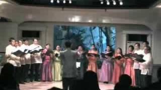 Kyrie - Missa Festiva - John Leavitt - conducted by Sarin Chintanaseri