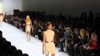 getlinkyoutube.com-Mugler F/W 2015. Daria Shapovalova at Paris Fashion Week