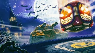 getlinkyoutube.com-Tanki Online Halloween Gold Box + Halloween mission