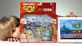 getlinkyoutube.com-Checking Out Angry Birds GO! Telepods Deluxe Multi-Pack on Android