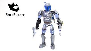getlinkyoutube.com-Lego Star Wars 75107 Jango Fett - Lego Speed Build