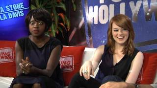 Emma Stone & Viola Davis on The Help and Why Emma cries at everything