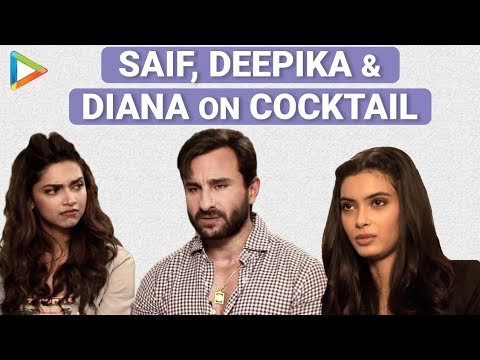 Cocktail Of Fun With Saif Ali Khan, Deepika Padukone, Diana Penty - Part 2