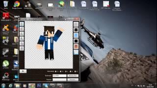 getlinkyoutube.com-Como Fazer Um Cartoon De Minecraft Da Sua Skin