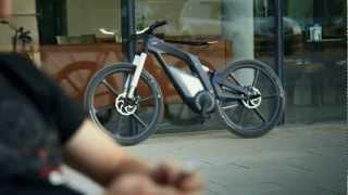 getlinkyoutube.com-Audi e-bike Official - A bicycle that runs at 80 kmph HD