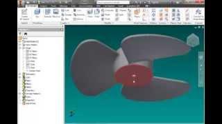 Autodesk Inventor- Como hacer una Helice