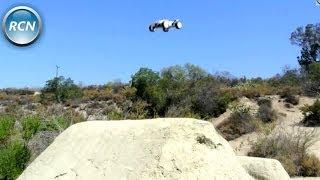 getlinkyoutube.com-Losi Mini 8ight T - Running/Jumping Video on 3s!