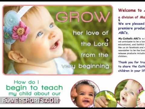 The ABC's of being Catholic  Teaching Faith to Children