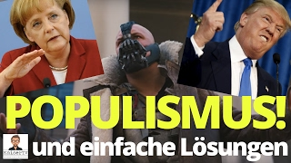 Populismus und einfache Lösungen