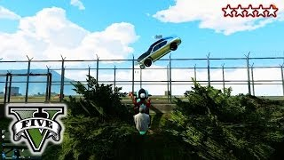 getlinkyoutube.com-GTA 5 SUICIDE MISSION!!! - GTA 5 Funny Fails - Getting A Jet On Foot Grand Theft Auto 5