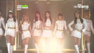 getlinkyoutube.com-101215 SNSD -Hoot + Oh! @2010 Melon Music Awards