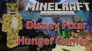 getlinkyoutube.com-Minecraft xbox 360 Hunger Games   Disney Pixar #2   Map Download   Survival Games