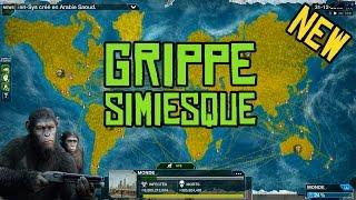 getlinkyoutube.com-Plague Inc. Evolved Gameplay #33 Grippe simiesque: Humain vs Singes FR