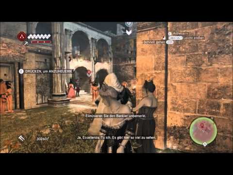 Let´s Play Assassins Creed Brother Hood DEUTSCH GERMAN part 27  # im  Reich der Nudisten