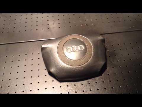 Расположение у Audi А4 Олроуд блока управления подушками безопасности